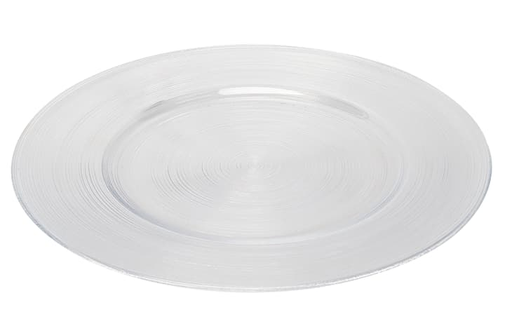 CELIA Assiette de présentation 440215103300 Couleur Transparent Dimensions H: 2.9 cm Photo no. 1
