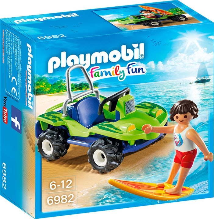 Playmobil Surfer et buggy 6982 746070900000 Photo no. 1