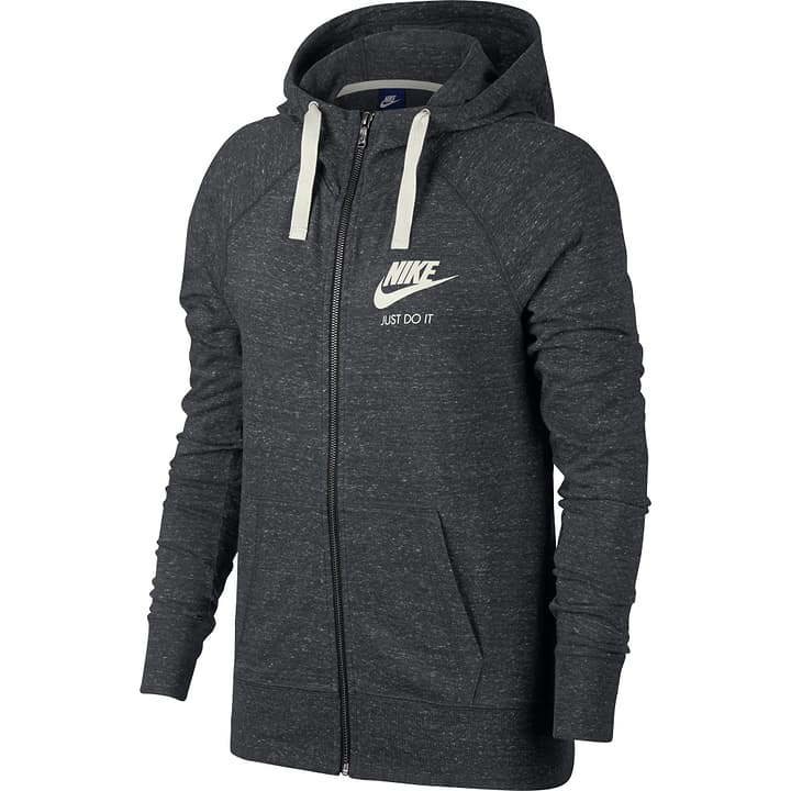 Sportswear Hoodie Veste à capuche pour femme Nike 462367900486 Couleur antracite Taille M Photo no. 1
