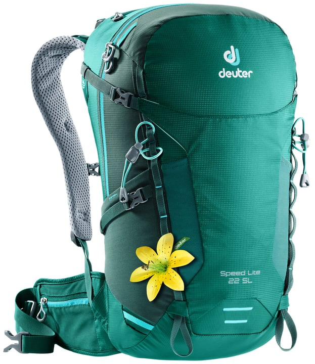 Speed Lite 22 SL Zaino da alpinismo per donna Deuter 460259000060 Colore verde Taglie Misura unitaria N. figura 1