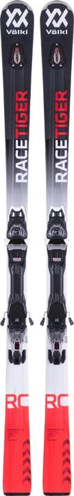 Racetiger RC inkl. VMotion 11 Set de skis de on Piste Völkl 464302416520 Longueur 165 Couleur noir Photo no. 1