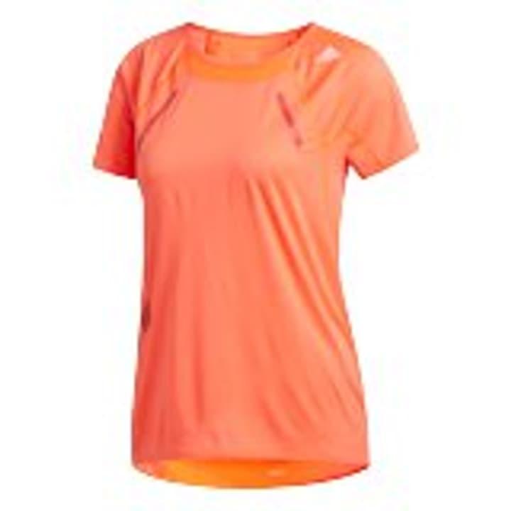 Heat RDY Tee Damen-T-Shirt Adidas 470408600330 Farbe rot Grösse S Bild-Nr. 1