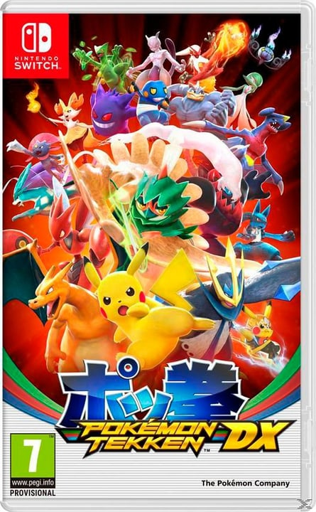 Switch - Pokémon Tekken DX Physique (Box) 785300128789 Photo no. 1