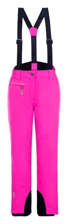 Nigella Pantalon de ski pour fille Icepeak 466950417629 Colore magenta Taglie 176 N. figura 1