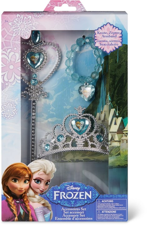 Disney Frozen 3in1, Krone Armband und Zauberstab 746528200000 Photo no. 1