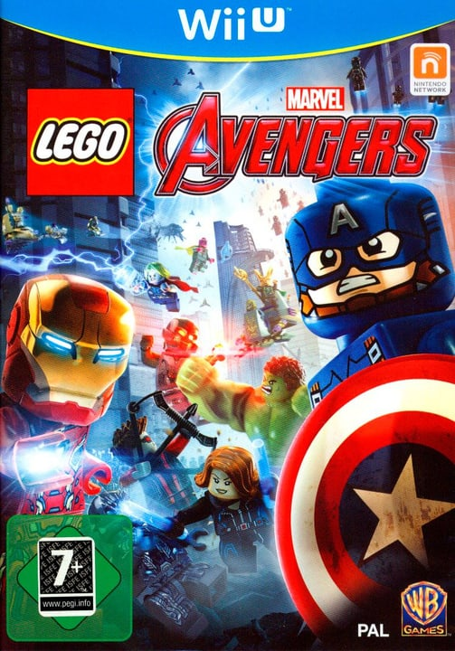 Wii U - LEGO Marvel Avengers Physisch (Box) 785300129394 Bild Nr. 1