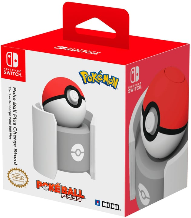 Switch Pokeball Plus Charge Stand Ladestation Nintendo 785300142167 Bild Nr. 1