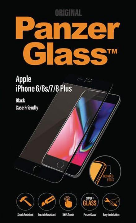 iPhone 6 / 7 / 8 Plus - schwarz Panzerglass 785300134549 Bild Nr. 1