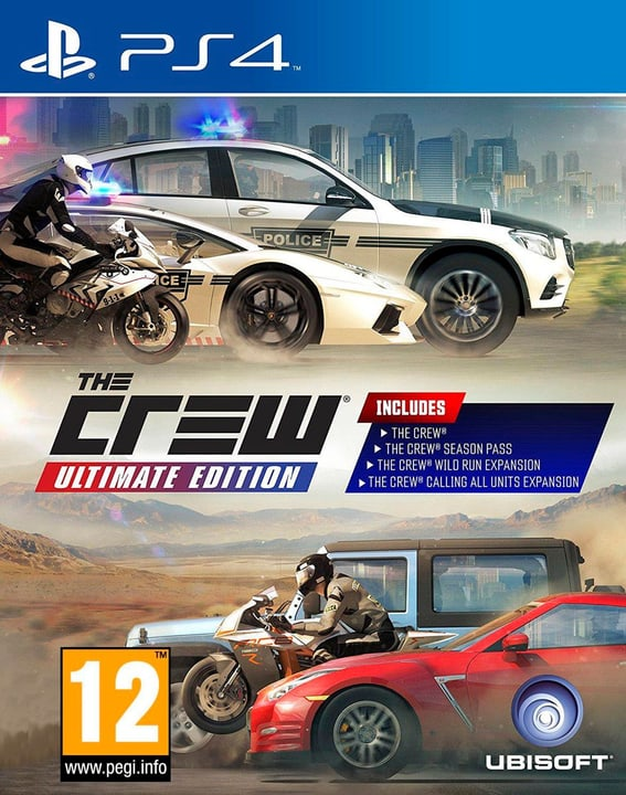 PS4 - The Crew Ultimante Edition 785300121449 Photo no. 1
