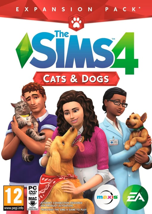 The Sims 4 Cats & Dogs- Expansion Pack Physisch (Box) 785300130425 Bild Nr. 1