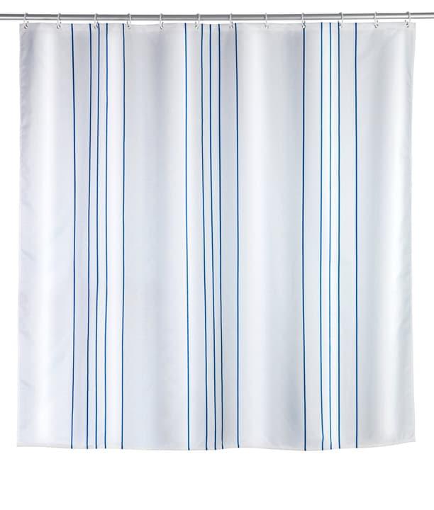 Duschvorhang Linen blau WENKO 674012100000 Bild Nr. 1