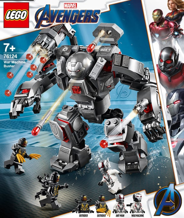 LEGO 76124 Marvel Super Hero 748714200000 Photo no. 1