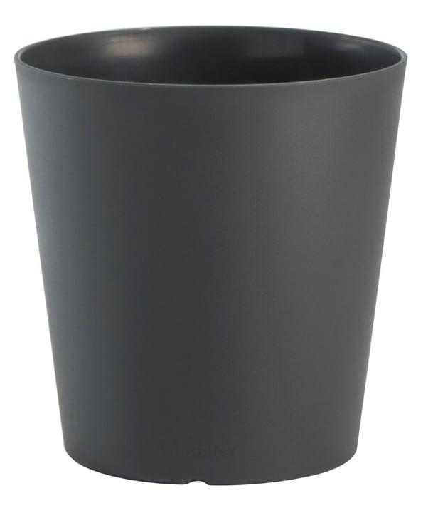 Pot à plante Tokyo 20 cm Grosfillex 659662500000 Taille ø: 20.0 cm x H: 19.0 cm Couleur Anthracite Photo no. 1
