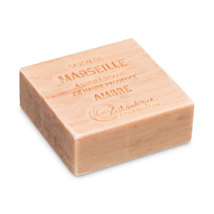 MARSEILLE Sapone ambra 374143400170 Dimensioni L: 6.5 cm x P: 6.5 cm x A: 2.5 cm Colore Amber gold N. figura 1