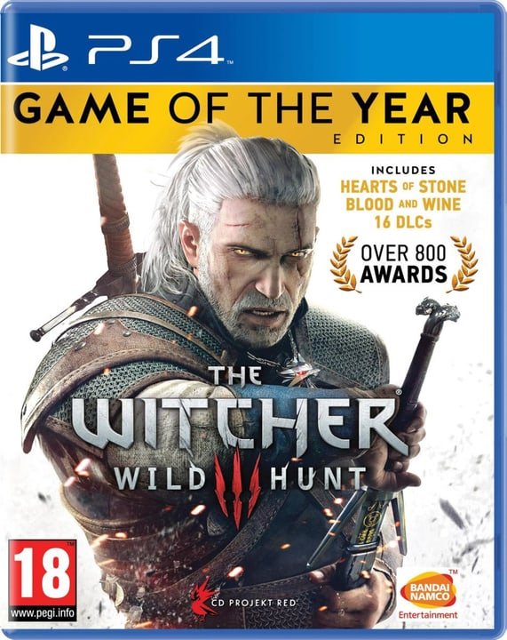 PS4 - The Witcher 3: Wild Hunt Goty Box