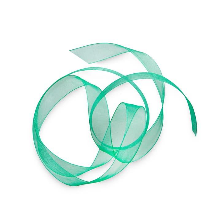ORGANSA Geschenkband 15 mm  x 5 m 386183600000 Grösse B: 500.0 cm x T: 1.5 cm x H: 0.1 cm Farbe Grün Bild Nr. 1
