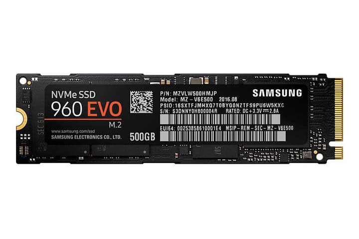 SSD 960 EVO 500Go M.2 2280 Disque Dur Interne SSD Samsung 785300125100 Photo no. 1