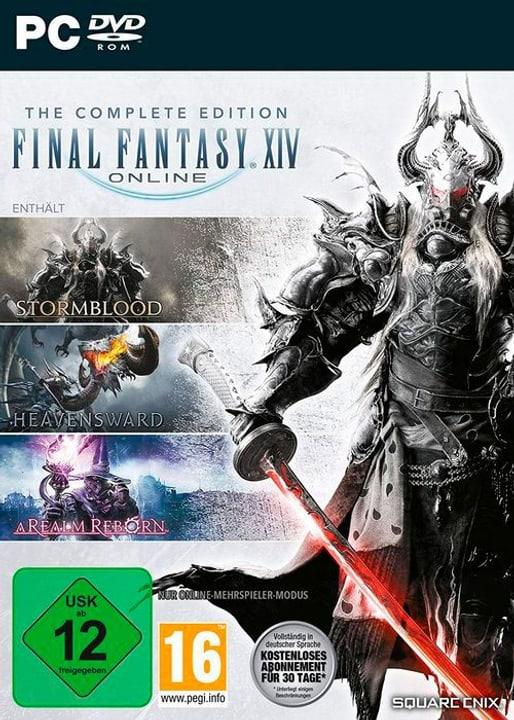 PC - Final Fantasy XIV: Complete Edition D Box 785300145054 Photo no. 1