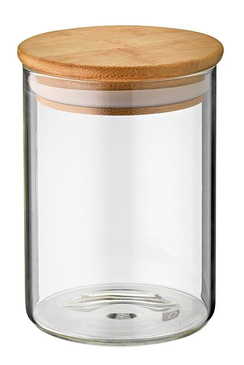 ELICIO Bocal de conservation 441102100100 Couleur Brun clair, Transparent Dimensions L: 14.0 cm x P:  x H:  Photo no. 1
