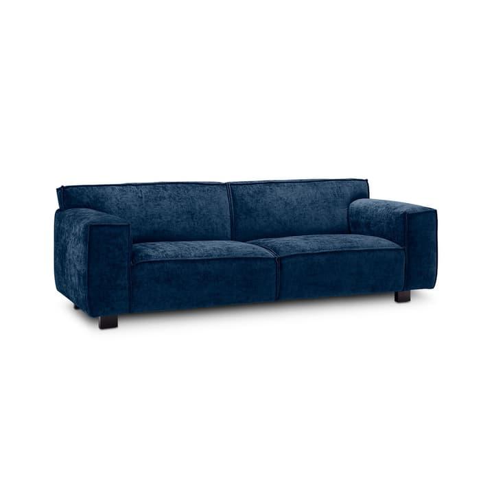 VESTA Eros canapè à 2.5 places 360032705408 Dimensions L: 216.0 cm x P: 96.0 cm x H: 74.0 cm Couleur Bleu foncé Photo no. 1