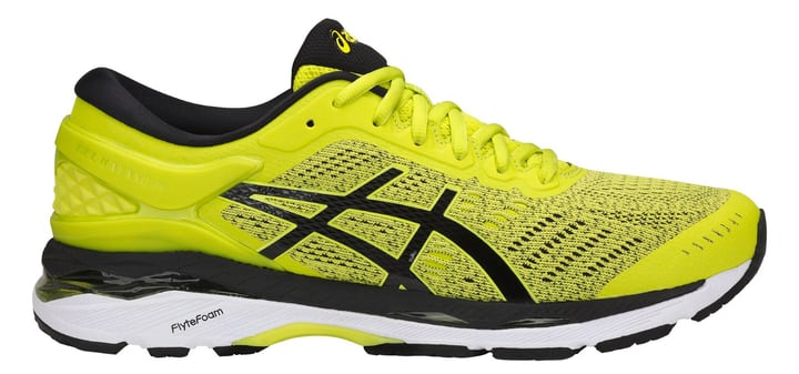 Gel Kayano 24 Chaussures de course pour homme Asics 462038541550 Couleur jaune Taille 41.5 Photo no. 1