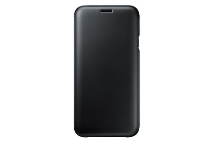 Wallet Cover J7 (2017) noir Samsung 785300129633 Photo no. 1