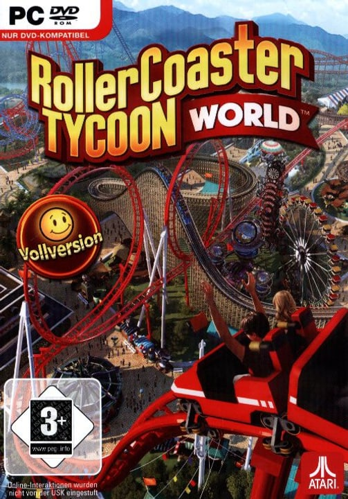 PC - Pyramide: RollerCoaster Tycoon World Physique (Box) 785300121619 Photo no. 1