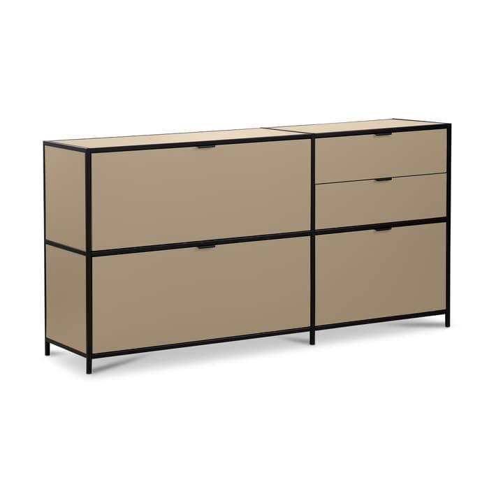 SEVEN Sideboard Edition Interio 360974500000 Grösse B: 155.0 cm x T: 38.0 cm x H: 80.0 cm Farbe Braun Bild Nr. 1