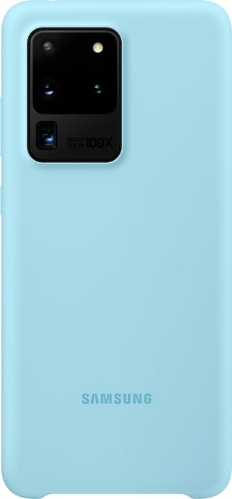 Silicone Cover sky blue Hülle Samsung 785300151173 Bild Nr. 1