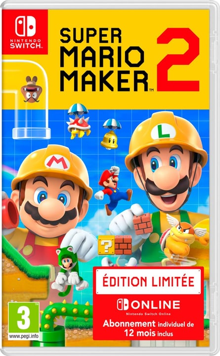 NSW - Super Mario Maker 2 Limited Edition Box 785300144158 Langue Français Plate-forme Nintendo Switch Photo no. 1