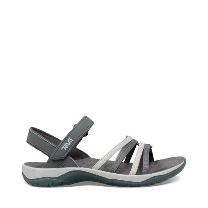Elzada Sandal Web Sandali da donna Teva 493452342080 Colore grigio Taglie 42 N. figura 1