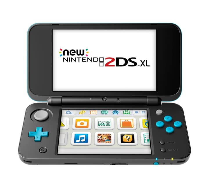 NEW 2DS XL Noir Turquoise Nintendo 785436800000 Photo no. 1