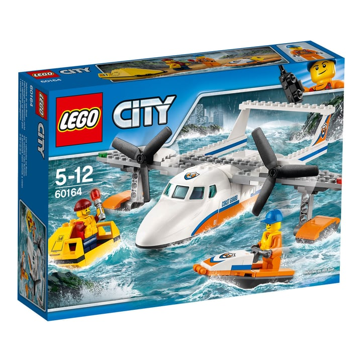 LEGO City L'hydravion de secours en mer 60164 748847500000 Photo no. 1