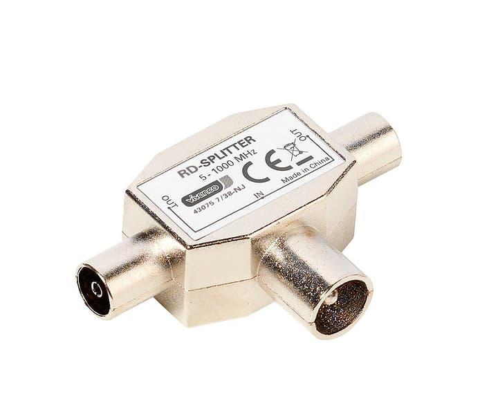 7/38-NJ RD-Splitter doppio radio 1-2 Adattatore Vivanco 770802800000 N. figura 1