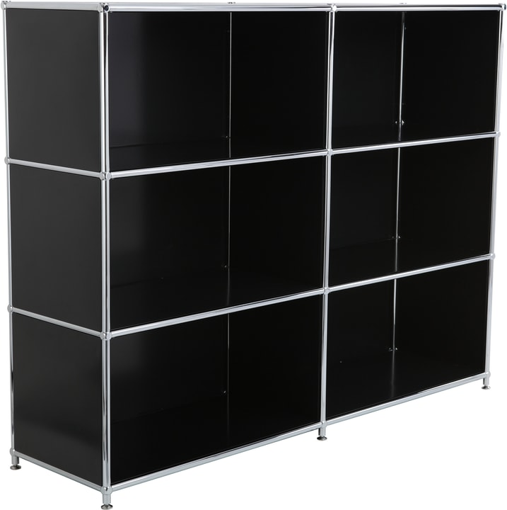 FLEXCUBE Buffet haut 401809200020 Dimensions L: 152.0 cm x P: 40.0 cm x H: 118.0 cm Couleur Noir Photo no. 1