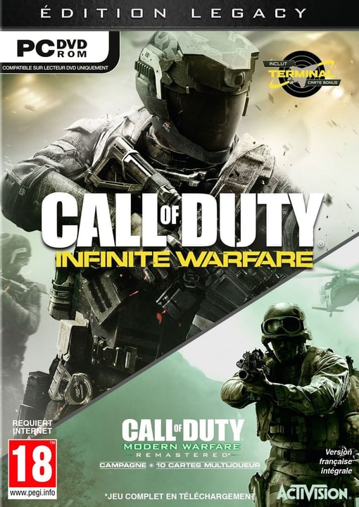 PC - Call of Duty: Infinite Warfare - Legacy Edition Fisico (Box) 785300121588 N. figura 1