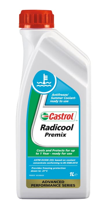 Radicool Premix Liquide de refroidissement avec silicate 1l Liquide auto Castrol 620267700000 Photo no. 1