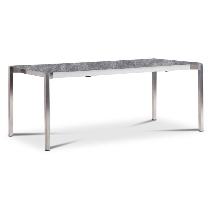 LUZON Table àrallonge 368032400000 Dimensions L: 190.0 cm x P: 90.0 cm x H: 75.0 cm Couleur Gris Photo no. 1