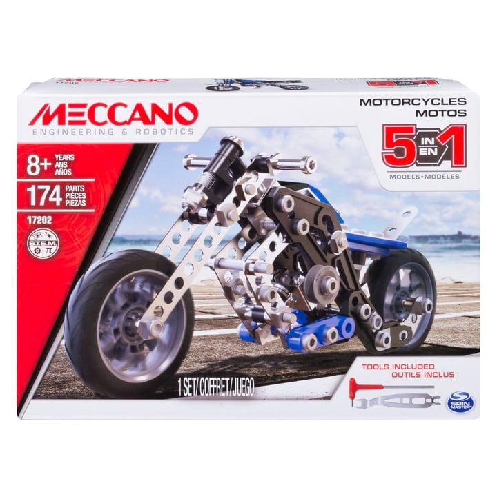 Meccano Set 5 modelli - Motociclette 746214700000 N. figura 1
