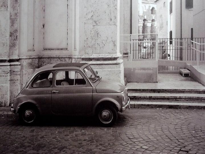 VINTAGE CAR Tableau canvas 431815760852 Dimensions L: 60.0 cm x P: 2.5 cm x H: 80.0 cm Photo no. 1