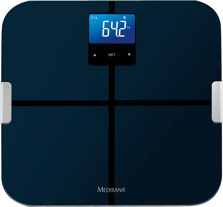 BS440 Pèse-personne d'analyse corporelle noir Bilancia d'analise Medisana 785300123259 N. figura 1
