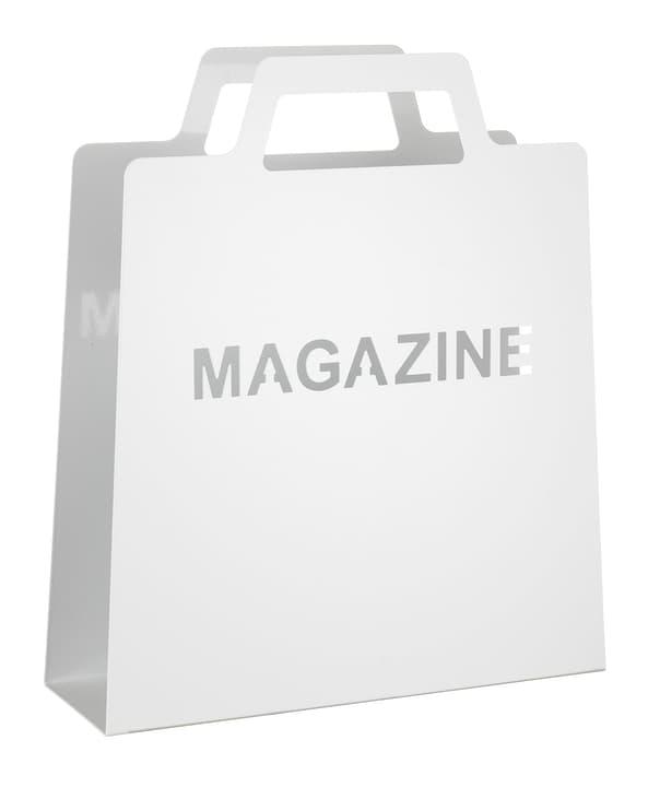 MAGAZINE Portariviste 440625000000 Colore Bianco Dimensioni L: 30.0 cm x P: 10.5 cm x A: 35.5 cm N. figura 1
