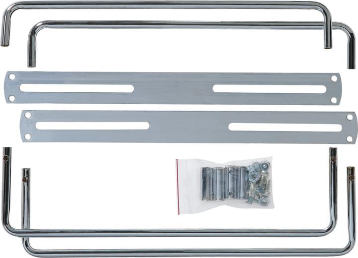 Set per portatarga effetto cromo piccolo Cornice per targa Miocar 621378000000 N. figura 1
