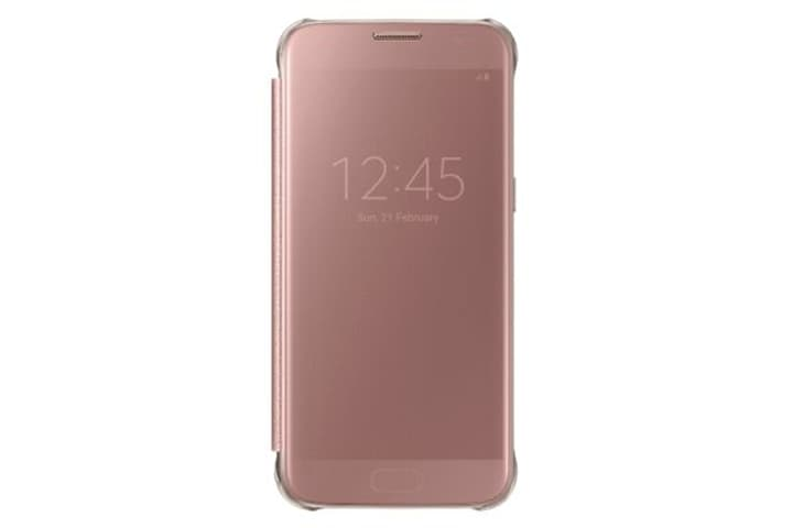 Clear View Cover Pink Gold Custodia Samsung 798074500000 N. figura 1