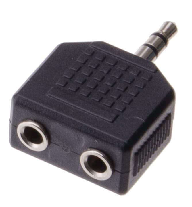 Audio Adapter Stereo Klinkenbuchse Schwaiger 613129600000 Bild Nr. 1