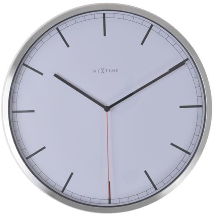 Orologio da parete Company Stripe White Dur NexTime 785300141167 N. figura 1