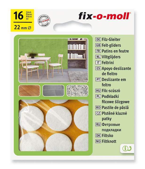 Filzgleiter 3 mm / Ø 22 mm 16 x Fix-O-Moll 607067300000 Bild Nr. 1