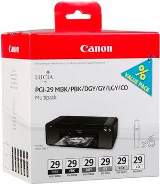 PGI-29  MBK/PBK/DGY/GY/LGY/CO Tintenpatrone Canon 785300126237 Bild Nr. 1