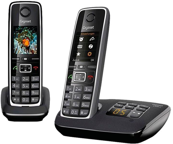 C530A Duo schwarz Festnetz Telefon Gigaset 794058400000 Bild Nr. 1