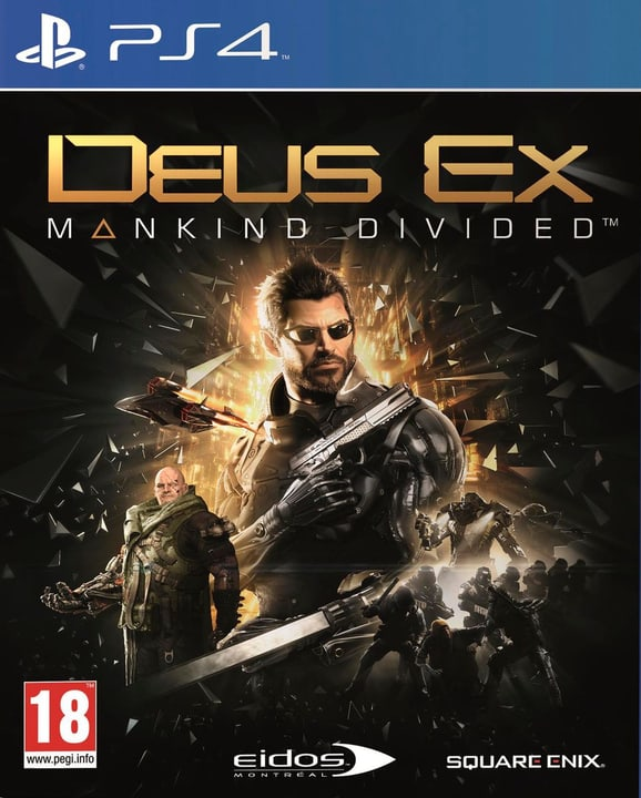 PS4 - Deus Ex: Mankind Divided (Day One Edition) 785300120719 Photo no. 1